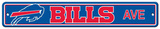 NFL Buffalo Bills Plastic Street Sign Wall Sign