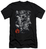 Sons Of Anarchy - Group Fight (slim fit) Shirt