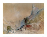 A View on The Rhine Giclee Print by J.M.W. Turner