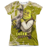 Juniors: Shrek - Best Friends Womens Sublimated