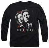 Longsleeve: The X Files - Mulder & Scully Long Sleeves
