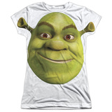 Juniors: Shrek - Head Womens Sublimated