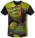 Shrek - Trio (black back) Sublimated