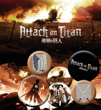 Attack On Titan Badge Pack Badge