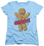 Womens: Shrek - Gingy T-shirts