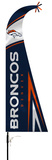 NFL Denver Broncos Feather Flag Flag