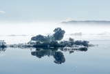 Melting Sea Ice, Hudson Bay, Nunavut Territory, Canada Photographic Print by Paul Souders