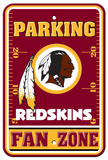 NFL Washington Redskins Plastic Parking Sign - Fan Zone Wall Sign