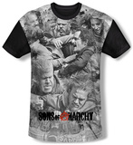 Sons Of Anarchy - Brawl (black back) T-Shirt