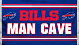 NFL Buffalo Bills Man Cave Flag with 4 Grommets Flag