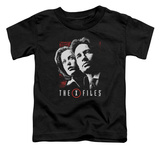 Toddler: The X Files - Mulder & Scully T-Shirt