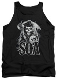 Tank Top: Sons Of Anarchy - Smoky Reaper Tank Top