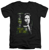 The X Files - Mulder V-neck Shirts