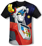 Voltron - Space (black back) T-shirts