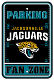 NFL Jacksonville Jaguars Plastic Parking Sign - Fan Zone Wall Sign