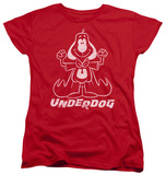 Womens: Underdog - Outline Under T-Shirt