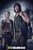 The Walking Dead - Carol and Daryl Plakater
