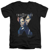 The X Files - X Agents V-neck Shirt