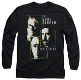 Longsleeve: The X Files - Lone Gunmen T-shirts