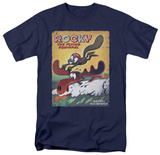 Rocky & Bullwinkle - Vintage Poster T-Shirt