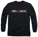 Longsleeve: Sons Of Anarchy - Beat Up Logo Shirt