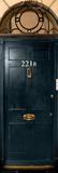 Sherlock - 221b Door Plakaty