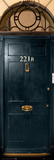 Sherlock - 221b Door Photo