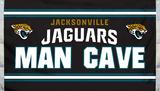 NFL Jacksonville Jaguars Man Cave Flag with 4 Grommets Flag