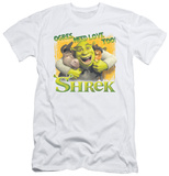 Shrek - Ogres Need Love (slim fit) T-Shirt