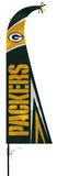 NFL Green Bay Packers Feather Flag Flag
