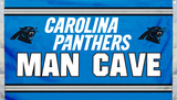 NFL Carolina Panthers Man Cave Flag with 4 Grommets Flag
