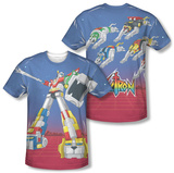 Voltron - Form Voltron (Front/Back) Sublimated