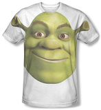 Shrek - Head Sublimated