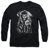 Longsleeve: Sons Of Anarchy - Smoky Reaper T-Shirt