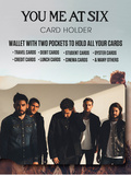 You Me At Six Card Holder Wallet