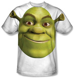 Shrek - Head T-shirts