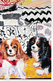 Gemma and Daphne, 2014 Stretched Canvas Print by Billy Sullivan