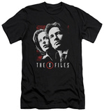 The X Files - Mulder & Scully (slim fit) T-shirts