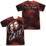 The X Files - Truth Seekers (Front/Back Print) T-shirts
