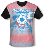 Underdog - Burst (black back) Sublimated