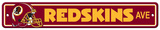 NFL Washington Redskins Plastic Street Sign Wall Sign