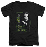 The X Files - Scully V-neck T-shirts