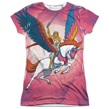 Juniors: She Ra - Sky Power T-shirts