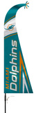 NFL Miami Dolphins Feather Flag Flag