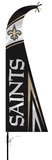NFL New Orleans Saints Feather Flag Flag