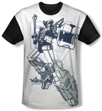 Voltron - Defender (black back) T-Shirt
