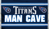 NFL Tennessee Titans Man Cave Flag with 4 Grommets Flag