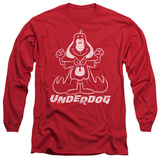 Longsleeve: Underdog - Outline Under T-shirts
