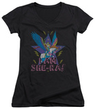Juniors: She Ra - I Am She Ra V-Neck T-Shirt