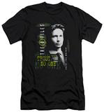 The X Files - Mulder (slim fit) T-shirts